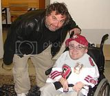 Artie Lange and Eric the Midget